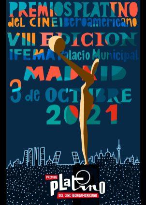 Imagen del cartel cedida por los Premios Platino. EFE