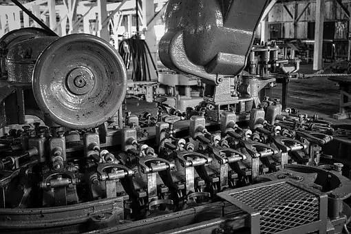 Cadena de montaje fábrica