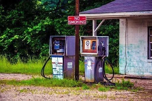 Gasolinera abandonada