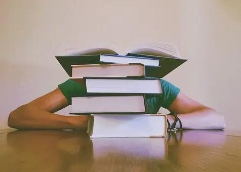 Leer muchos libros puede agotar