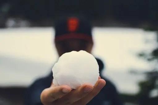 Empieza con una bola de nieve pequeña, y acaba...