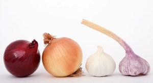 Distintos tipos de cebollas