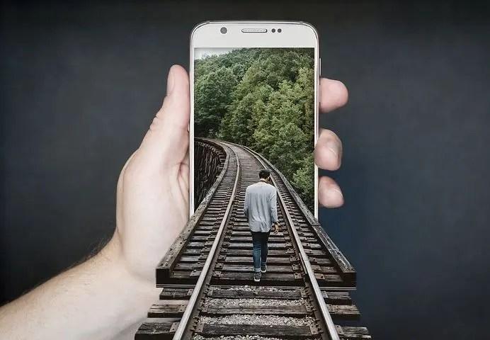 Teléfono con capacidad GPS