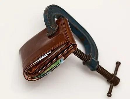 Reducir gastos es apretarse la cartera