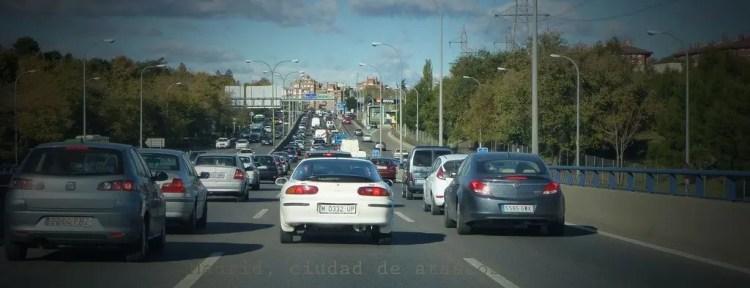 Retenciones y atascos en carreteras