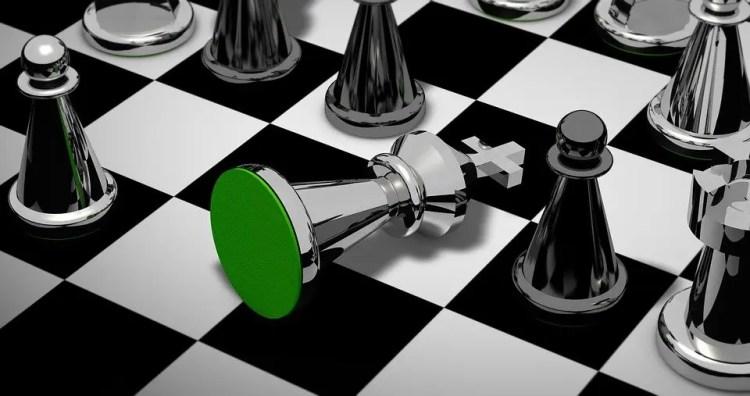 Al igual que el jaque mate en ajedrez, el fracaso es una derrota