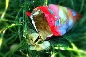 Una bolsa de patatas fritas