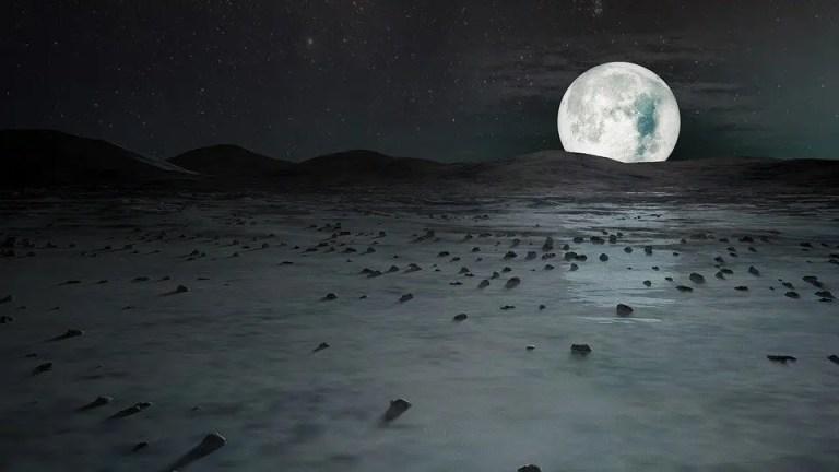 Una preciosa luna llena