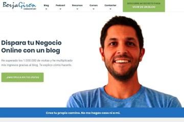 Web de Borja Girón