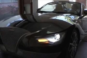El Purecar, el coche eléctrico construido por un profesor de educación física