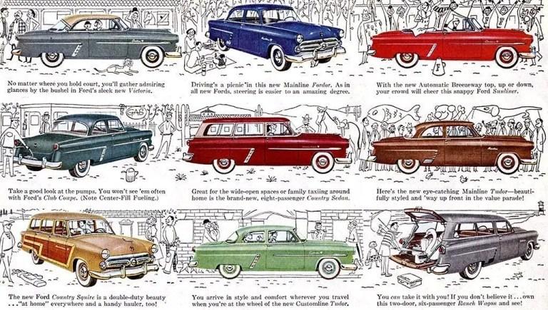 Diferentes vehículos