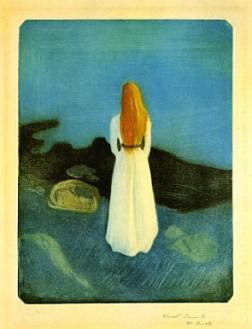 """Menina na beira do mar"", 1896"