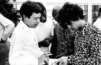 Com Caetano, Jorge Ben e Gil