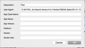 iPad-User-Agent
