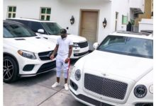 Celebrities react davido new car and plane