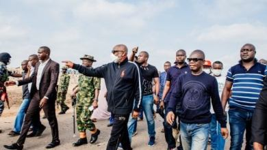 More videos, photos from Akure explosion, Akeredolu visits scene