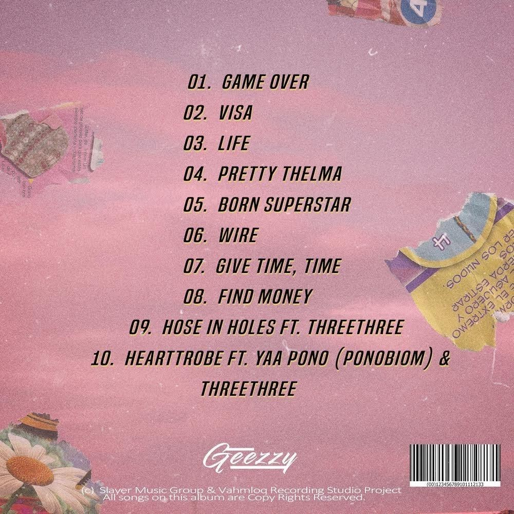 Geezzy Give Time Time EP (Full Album) Mp3 Zip Fast Download Free Audio Complete