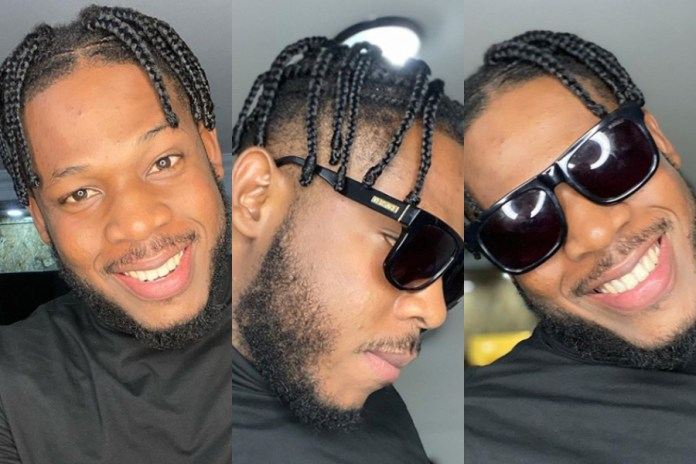 "BBnaija Star, Frodd Shocks Social Media With A New ""Travis Scott"" Hairstyle (Photos)"