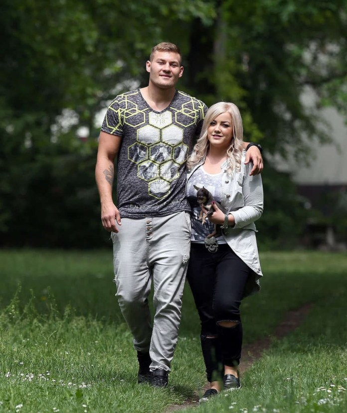 Tom Schwarz, best known for fighting Tyson Fury in 2019, faces 10 years in jail after allegedly breaking ex-fiancee