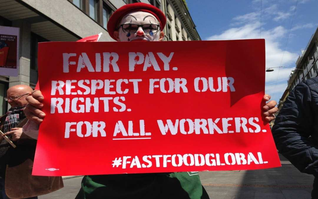 #FastFoodGlobal – EFFAT supports workers fighting for a living wage
