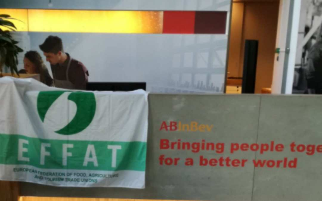 EFFAT supports Belgian affiliates in today's general strike