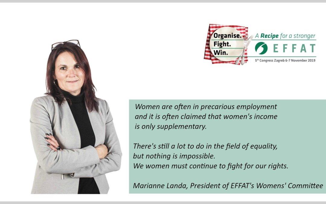 Ο μακρύς δρόμος για την ισότητα των φύλων στην Ευρώπη μια γνωμοδότηση σχετικά με το Κογκρέσο από τη Marianne Landa