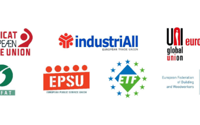 Worker involvement in managing the Covid-19 crisis – Joint statement of the ETUC and ETUFs industriAll Europe, UNI Europa, EFFAT, EPSU, ETF, EFBWW