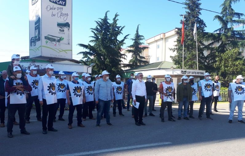General Secretary's Solidarity Message to Öz Gıda-İş and workers at Turkish tea factory