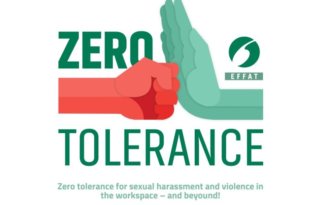 Zero tolerance for sexual harassment and violence in the workspace – and beyound!