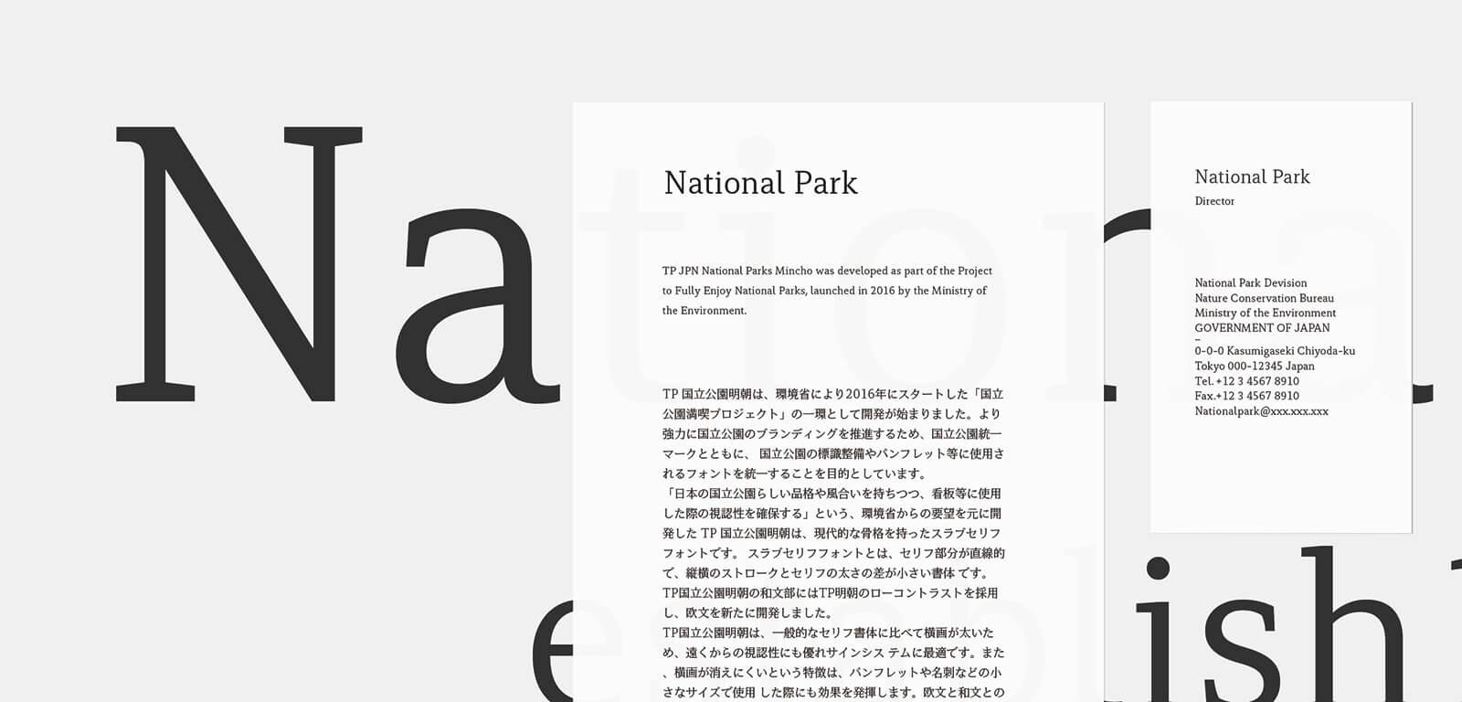 TP国立公園明朝