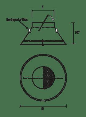 NEX-C Architectural Round Swirl Diffuser