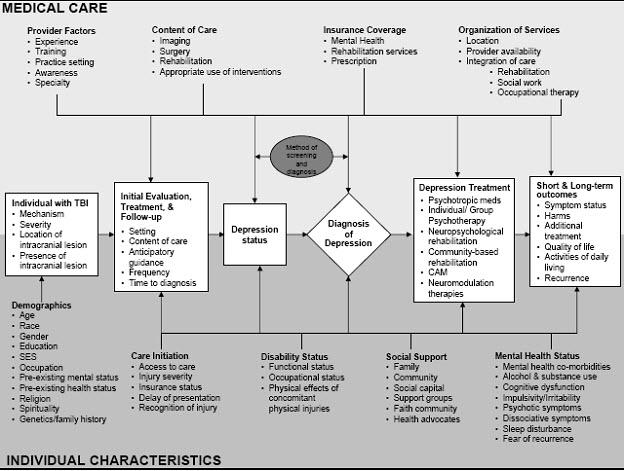 Traumatic Brain Injury and Depression | Effective Health ...