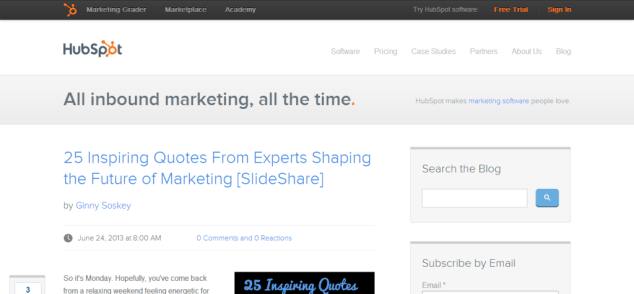 Inbound Marketing Blog   HubSpot