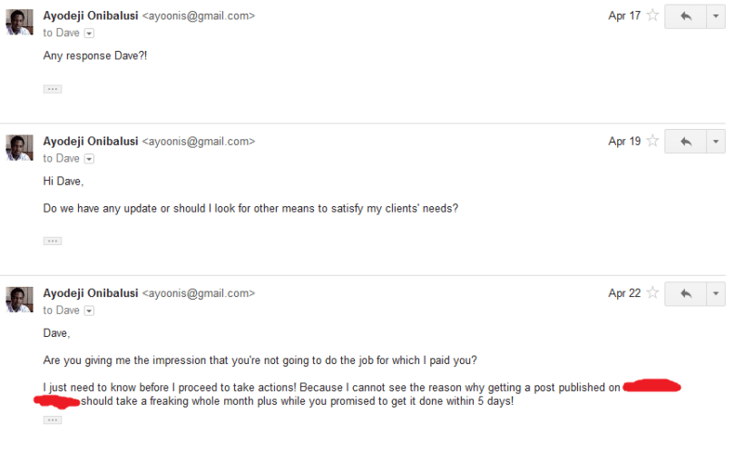 Discussion followed via email 12