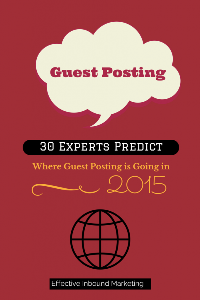 Guest Posting in 2015, What do Experts (6)