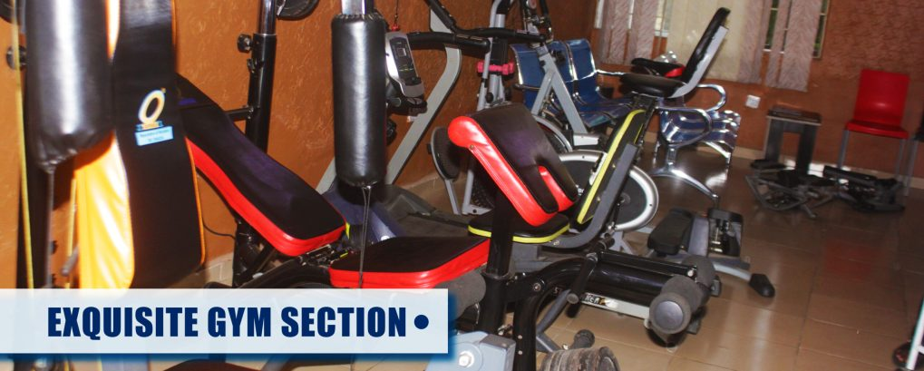 Exclusive GYM Section