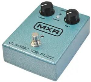 【MXR】[M173]Classic 108 Fuzzのレビューや仕様