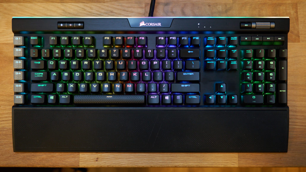 Corsair K95 RGB Platinum: best splurge