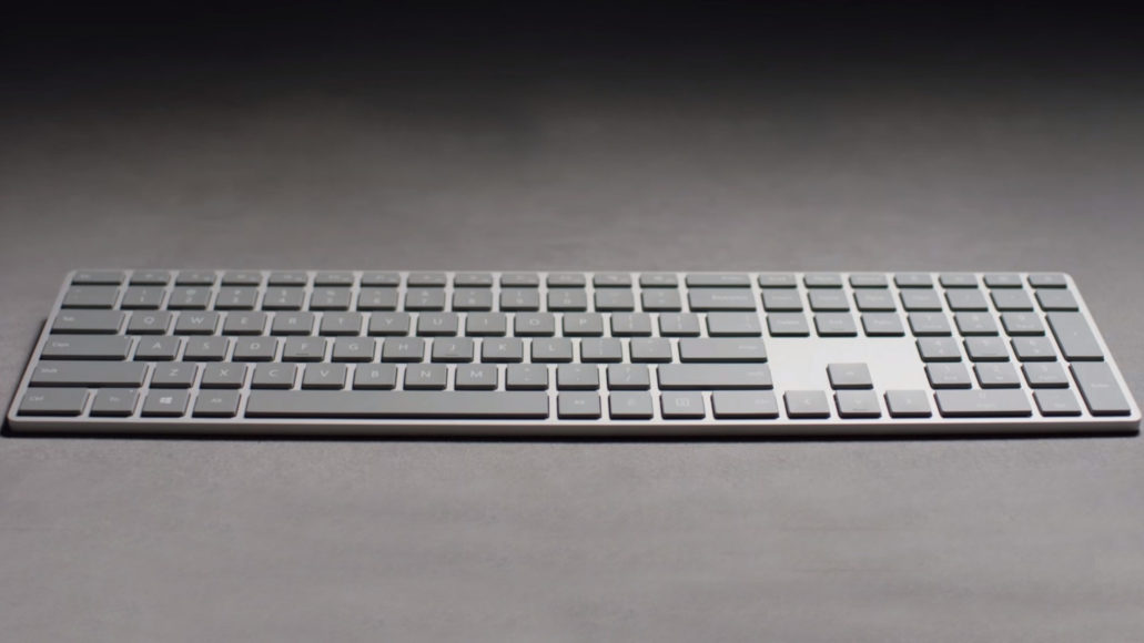 Microsoft Modern Keyboard With Fingerprint ID: the most secure