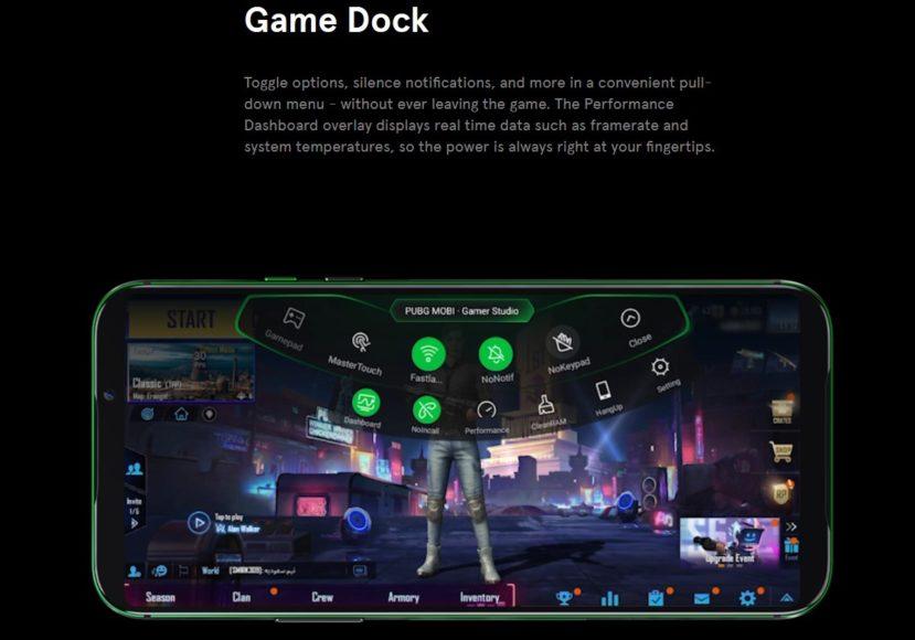 Xiaomi Black Shark 2 – OS and Game Dock