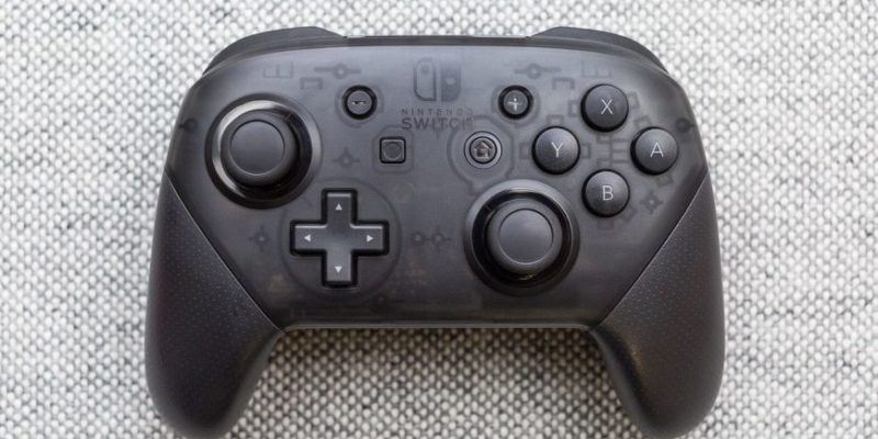 Nintendo Switch Pro Controller: different from the others