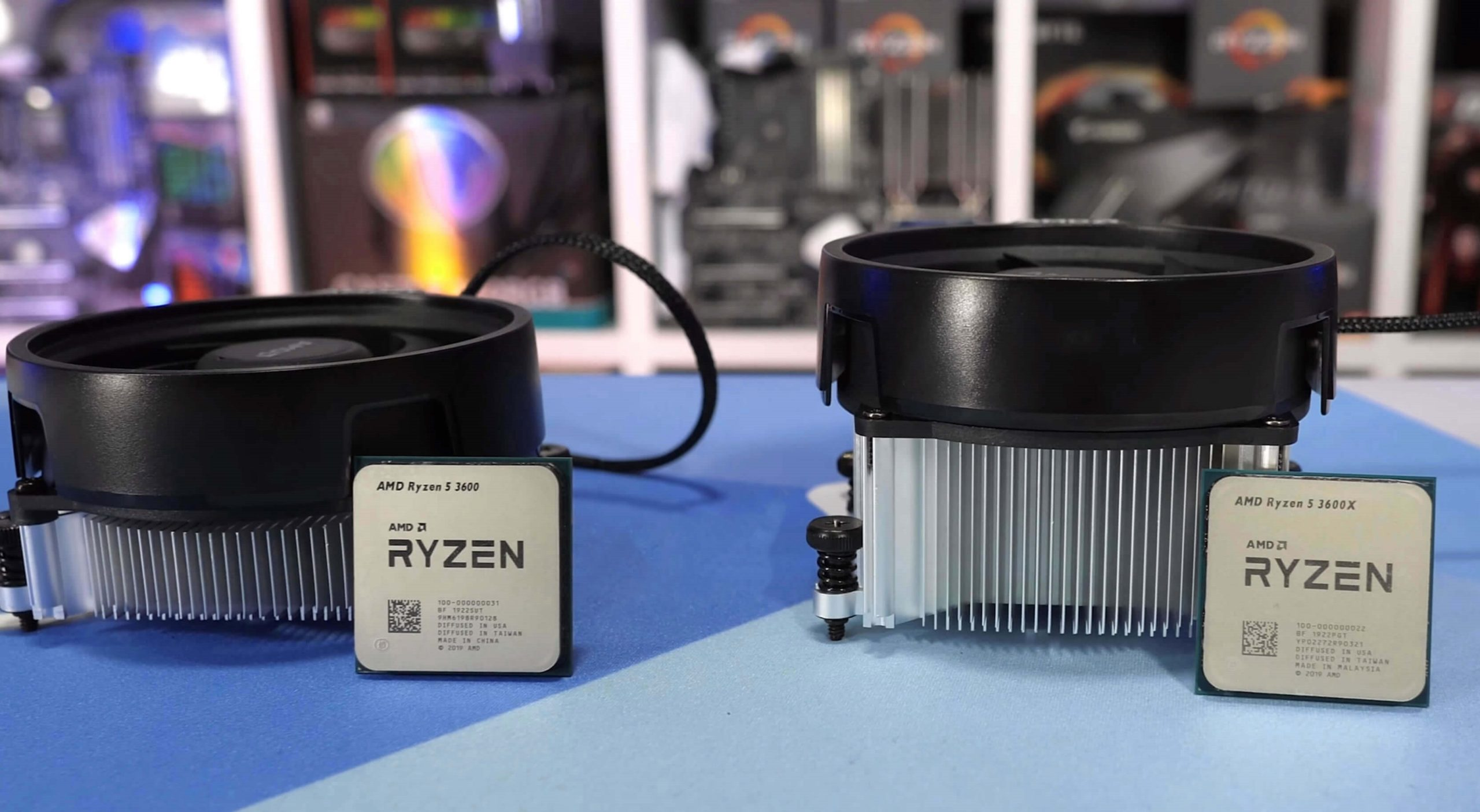 AMD Ryzen 5 3600X the best mid-range CPU