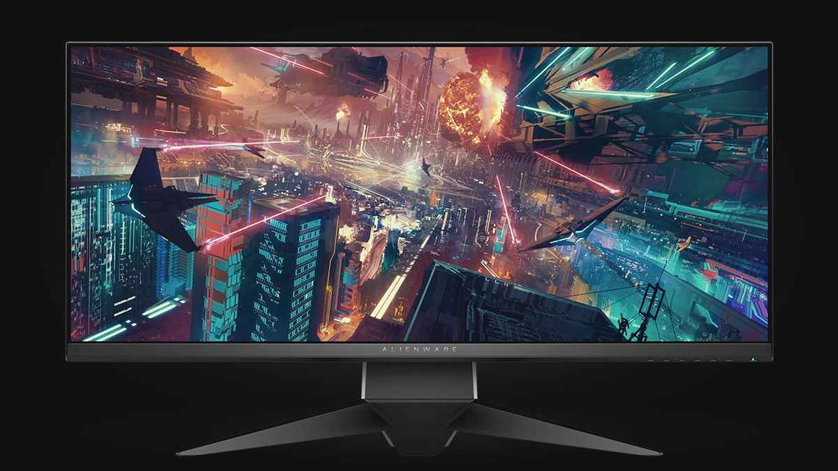 Alienware AW3418DW: an ultra-wide, curved, fast and compact gaming monitor