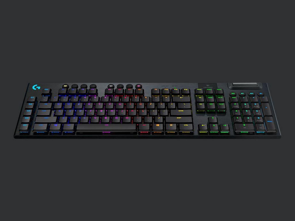 Logitech G915 Lightspeed Wireless RGB: the best portable gaming keyboard