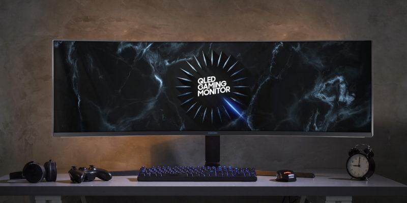 Samsung CRG9/C49RG9 : the biggest gaming monitor
