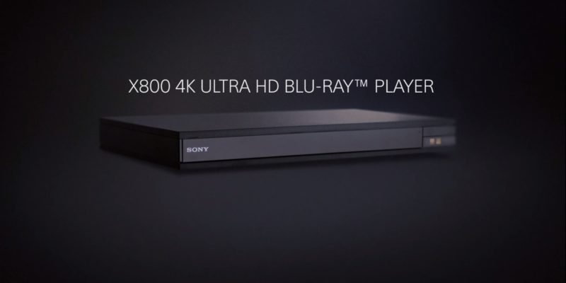 Sony UBP-X800: great picture matched with exceptional audio