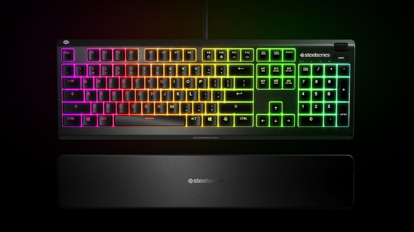 SteelSeries Apex 3: best budget gaming keyboard