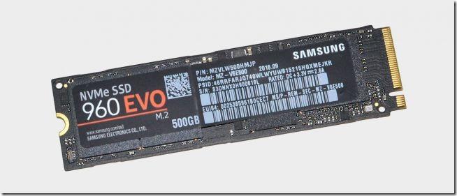Migliore SSD NVMe Samsung 960 Evo 500 GB