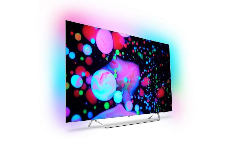 TV OLED 4K 9000 di Philips con tecnologia Ambilight