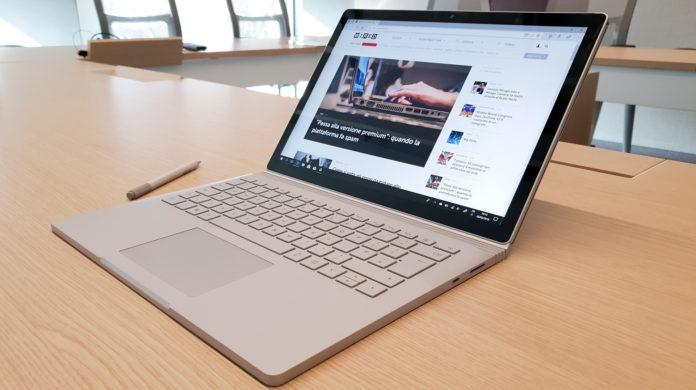 Miglior computer portatile per la modifica di foto video Surface Book 2 (15 pollici)